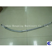 Carbon steel whip check safety cable