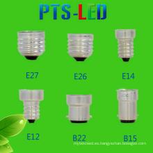 E14 E27 B22 adaptador lámpara Base tapa de alta calidad