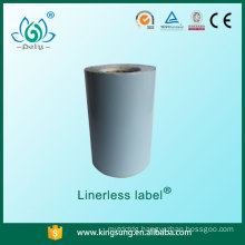 Accept small order factory price linerless label