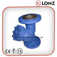 DIN Нержавеющая сталь CF8m / CF8 Фланцевый Y-образный фильтр