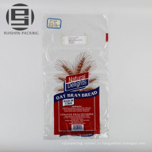 Логотип печати прозрачные пластиковые мешки упаковывать хлеба