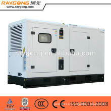 Water-cooled Silent Type 100kw 125kva Diesel Generator