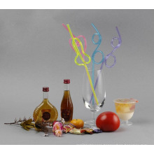 Crazy Straw/Curly Straw Decorative Bar Accessories Party Colorful Cocktail Drink Straws