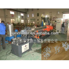 PP/PE and CaCO3 water-circle hot pelletizing extruder