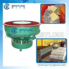 Rotary/Linear tipo vibratório, máquina de acabamento de pedra
