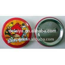 Fashion custom plastic tin badge for promotion gift