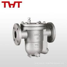 China válvula de tração de vapor de flutuador de bola de flange PN16 de alta qualidade