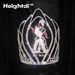 8in Crystal Cinderella Pageant Princess Crown