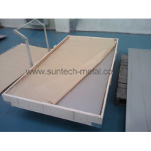 Placa de titanio puro de ASTM B265/Asme Sb265 - caliente rodado (T001)