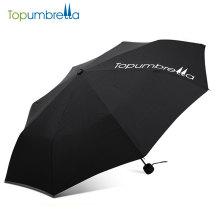 atacado de alta qualidade barato presente moda 3 vezes mini publicidade promoção guarda-chuva com impressão