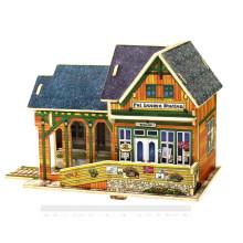 Holz Sammlerspielzeug für Globale Häuser - Norwegen Bahnhof
