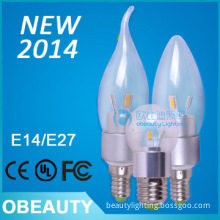 new designed led candle bulb 50000hrs lifespan