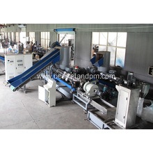 double stage Plastic film granulating line