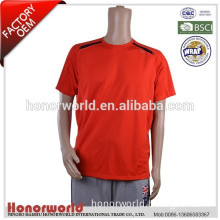 BSCI approved factory supply cheap safety reflective t-shirt for man