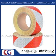 Красный & белая полоса отражает автомобиля наклейку для дорожного знака (C3500-S)