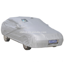 190T Silver Polyester Car Cover Plate Visible Transparent PVC lable