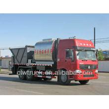HOWO 6m3 asphalt tank 10m3 Gravel bucket Road maintenance truck