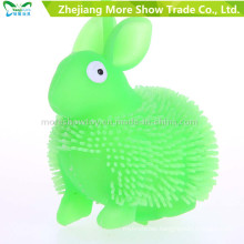 Novelty Colorful Puffer Yoyo Rabbit Toys Light up Ball
