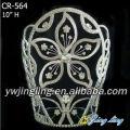 New fashion Chinese redbud Crown big flower shape