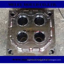 4 Cavities Plastic Injection Cup Mold