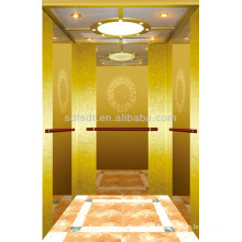 Shandong FJZY luxury Residential Elevator with small machine room-FJ8000 1.0m/s 630kg