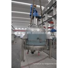 LFGG-Cilindro-cono máquina multifuncional de reacción, filtración y secado para alimentos