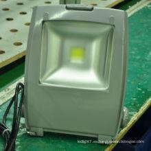 Shenzhen lighting fabricante ip65 50w llevó la luz de inundación de la tierra del deporte con CE y RoHS