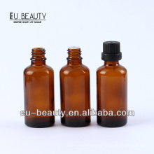 Pharmaceutical amber essential oil bottle 40ml