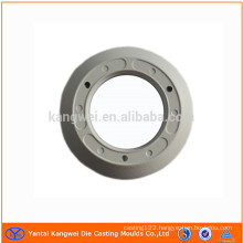 die casting part with powder coating surface