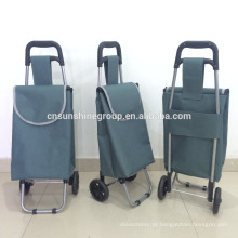 Wheel shopping trolley bag frame