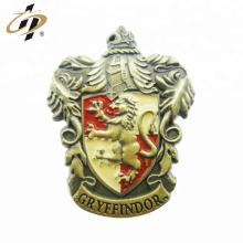 Custom 3d die cast metal enamel military lapel pin