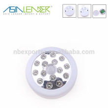 New 15LED Circle Type PIR motion sensor Working Light