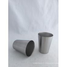 Tasse à vin personnalisée en acier inoxydable de 9oz (CL1C-M27-A)