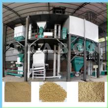Kleintier Geflügel Vieh Futter Pellet Produktionslinie Pflanze