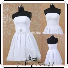 TT0508 padrões de vestido de noiva curto para noiva madura
