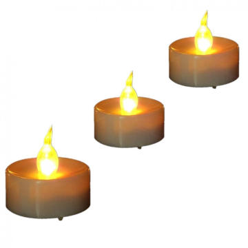 Ucuz LED mum toplu olarak LED tealight mum