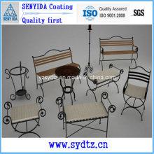 Крытое покрытие порошка для железной мебели