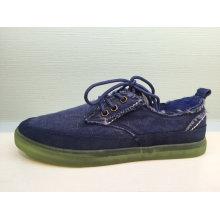 Neue Entwurfs-Mann-Segeltuch-beiläufige Schuhe