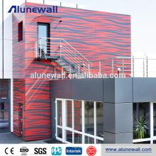 El panel compuesto de aluminio incombustible A2 del alto proveedor de China