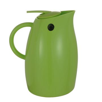 Pote de Café em Aço Inoxidável com Reenchimento de Vidro