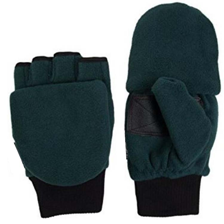 Fleece Pop Top Gloves