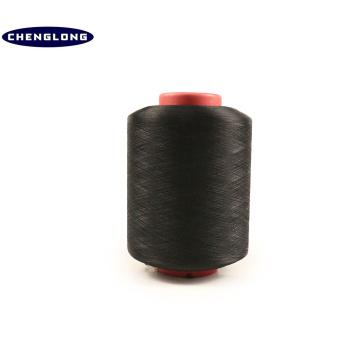 2075/3075/4075 Spandex hilado cubierto de alta tenacidad poliéster hilo de tejer