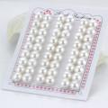 8mm Aaaa forma de botón de medio perforado pares de pareja Perla suelta de agua dulce al por mayor