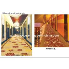 Maschine gemacht Jacquard Wilton Wolle Hotel Korridor Teppiche
