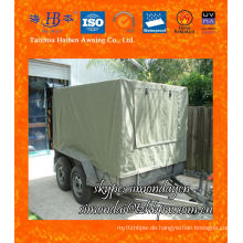 Canvas Trailer Cover, Trailer Cage Cover Leinwand 2 Way Window