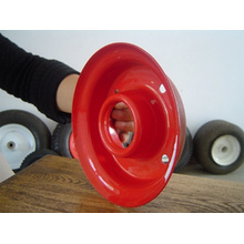 Rueda de goma 12 * 3.50-5, rueda de goma, borde de la rueda