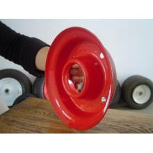 Roda de borracha de 12 * 3.50-5, roda de borracha, borda da roda