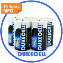 IEC-Norm betriebene Alkalibatterie D / Lr20
