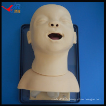 HR / J10 fortgeschrittene Säugling Intubation Atemwege Modell