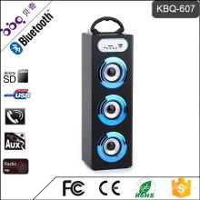 1200mAh battery LED screen display wireless bluetooth portable mini speaker